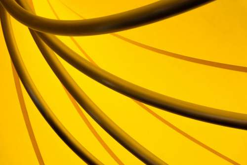Yellow Abstract Free Photo