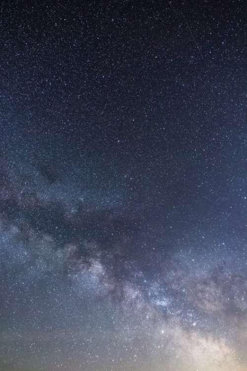 Vertical Milky Way Free Photo
