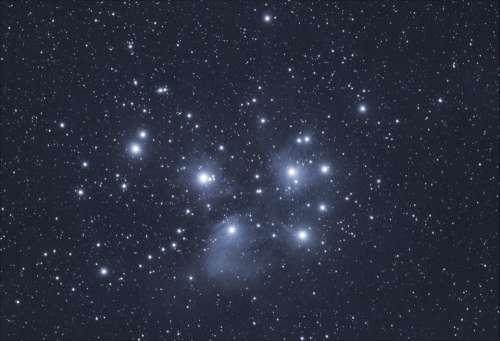 Pleiades Cluster Free Photo