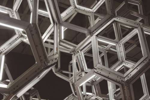 Geometric Building Free Photo