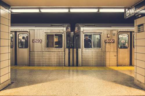 Subway Train Station Free Photo