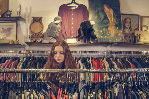 Woman Clothes Store Free Photo