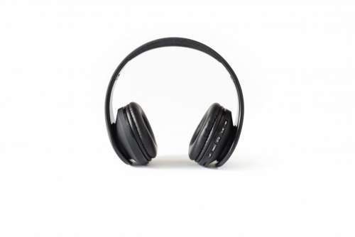 Isolated Headphones Free Photo