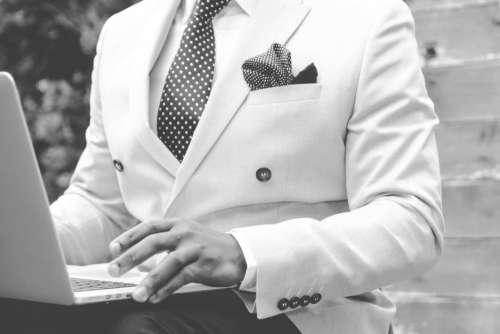 Man White Suit Free Photo