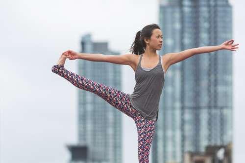Woman Yoga Asian Free Photo