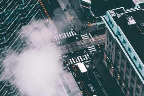 Fog City Street Free Photo