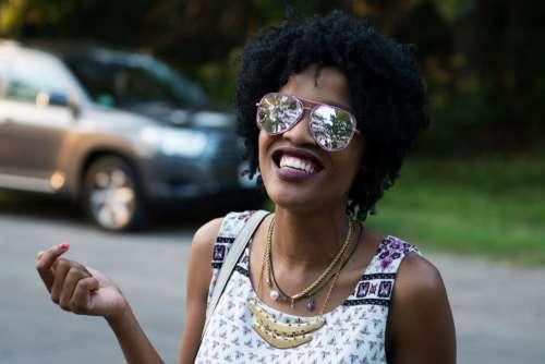 Woman Smile Sunglasses Free Photo