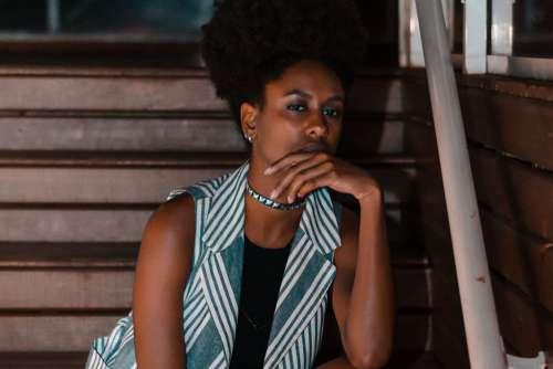 Beautiful Woman Afro Free Photo