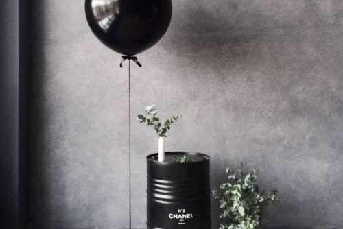 Black Balloon Free Photo