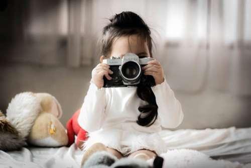 Child Girl Camera Free Photo