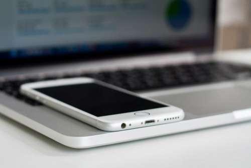 iPhone MacBook Free Photo