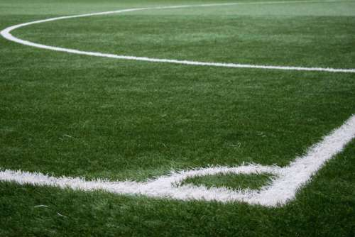 Football Pitch Corner Soccer Free Photo