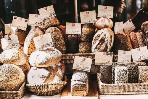 Fresh Homemade Bread Free Photo