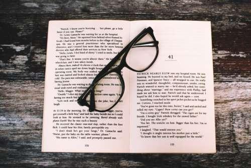 Book Open Glasses Free Photo