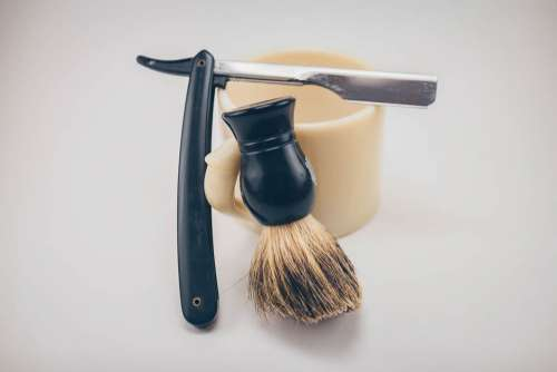 Barber Shave Kit Free Photo