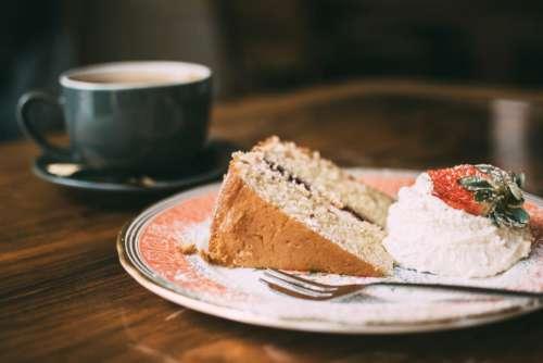 Coffee Cream Cake Sponge Free Photo