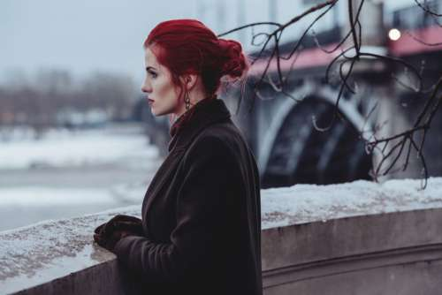 Woman Red Hair Free Photo