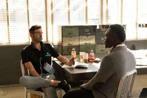 Men Talking Interview Free Photo