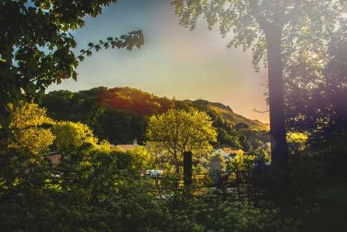 Spring Sunrise Country Free Photo