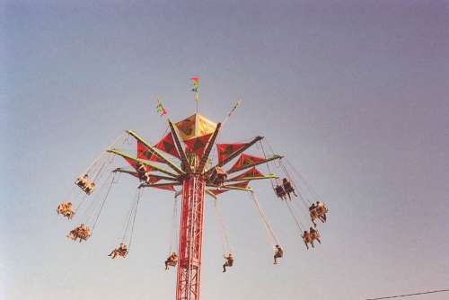 Fairground Round Amusement Free Photo