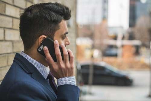 Businessman Call Mobile Free Photo