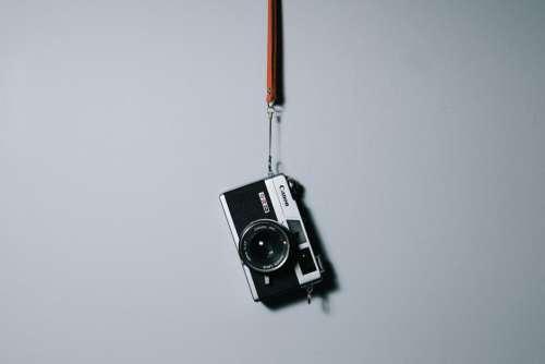 Camera Hanging Wall Free Photo