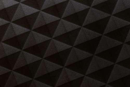 Dark Geometric Pattern Free Photo