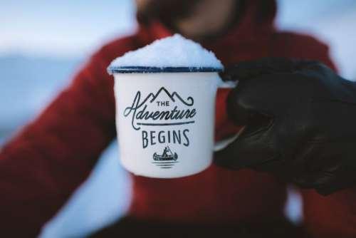 Adventure Cup Snow Free Photo