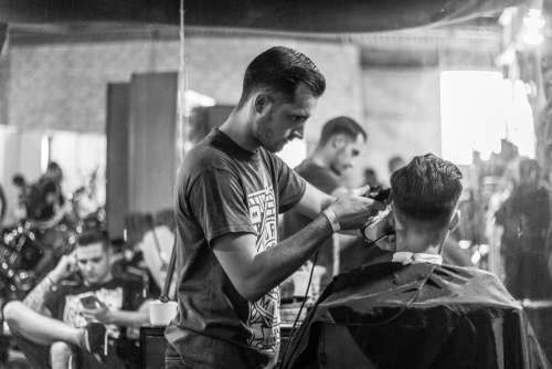 Barber Man Haircut Free Photo