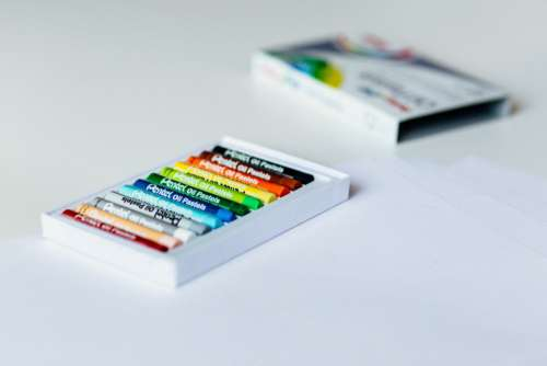 Color Crayons Free Photo
