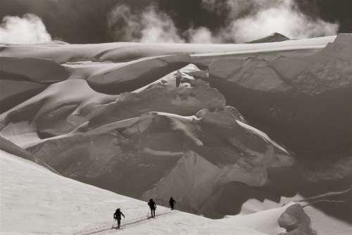 Cross Country Ski Free Photo