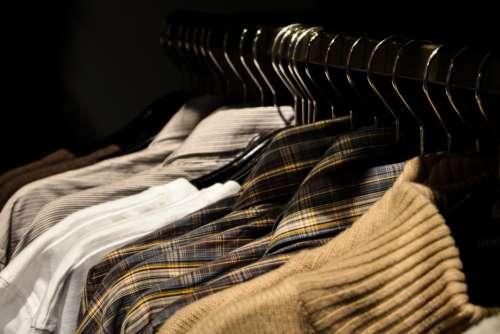 Man Shirt Hanger Free Photo