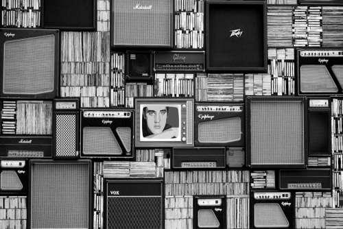 Speaker Television Album Free Photo
