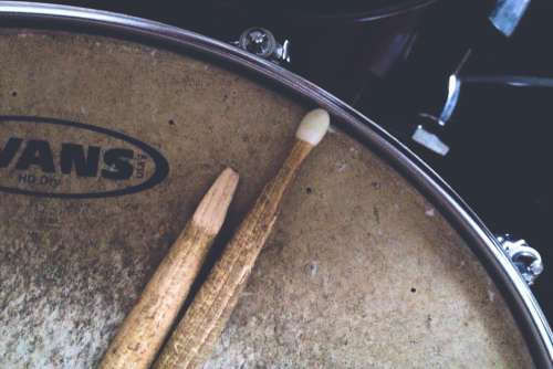 Drum Drumsticks Free Photo