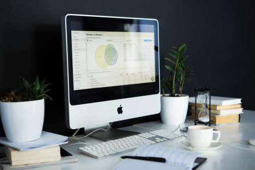 Mac Charts UX Stats Minimal Free Photo