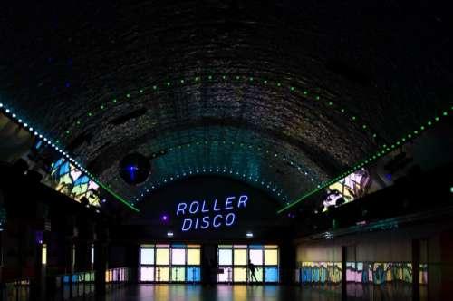 Disco Neon Night Free Photo
