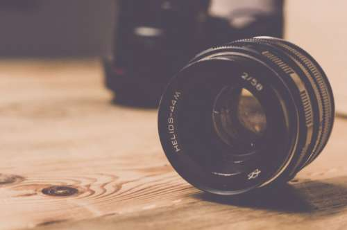 Analog Camera Lens Free Photo