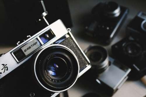 Black Camera Vintage Free Photo