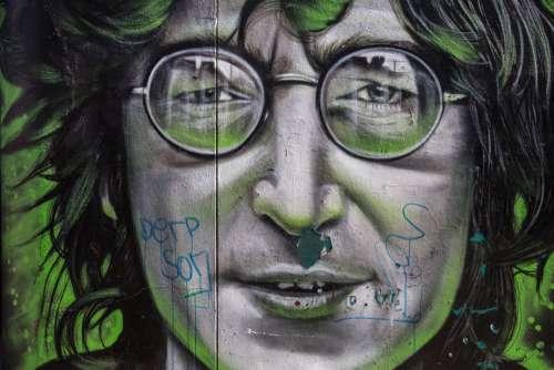 Man Street Art Graffiti Wall Free Photo
