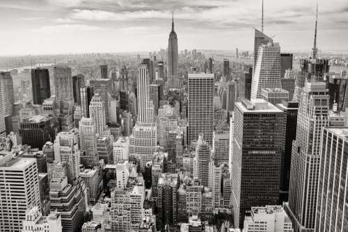 Manhattan Empire State Building Skyscraper Free Photo