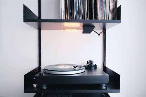 Black Record Player Vinyl Free Photo