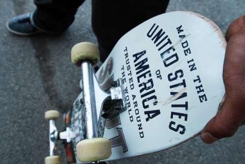 Overhead Skateboard Vintage Free Photo