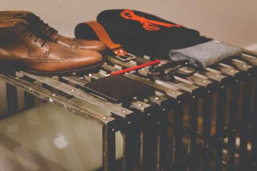 Shoes Wallet Glasses Belt Free Photo