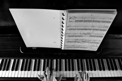 Sheet Music Piano Free Photo