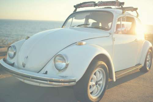 Classic Volkswagen Beetle Car Free Photo