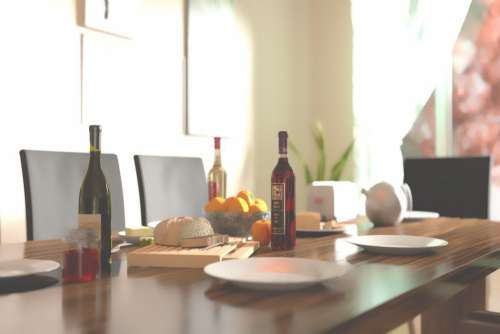 Dining Table Free Photo
