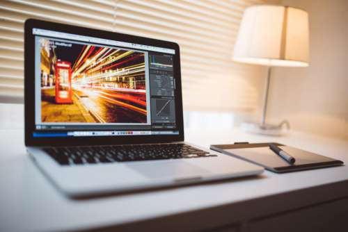 MacBook Styles Photo Editing Free Photo