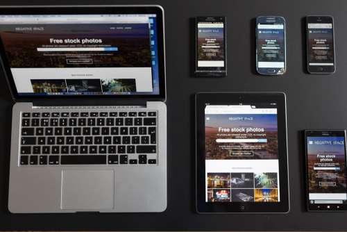 Mobile Device Laptop MacBook Free Photo