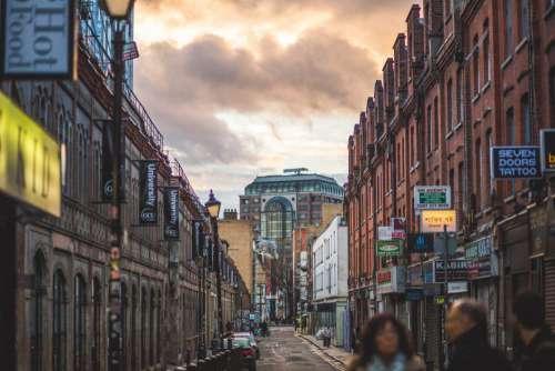 Cloudy Street London Free Photo