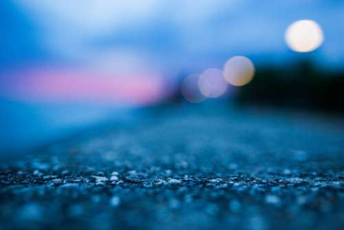 Bokeh Sunset Free Photo